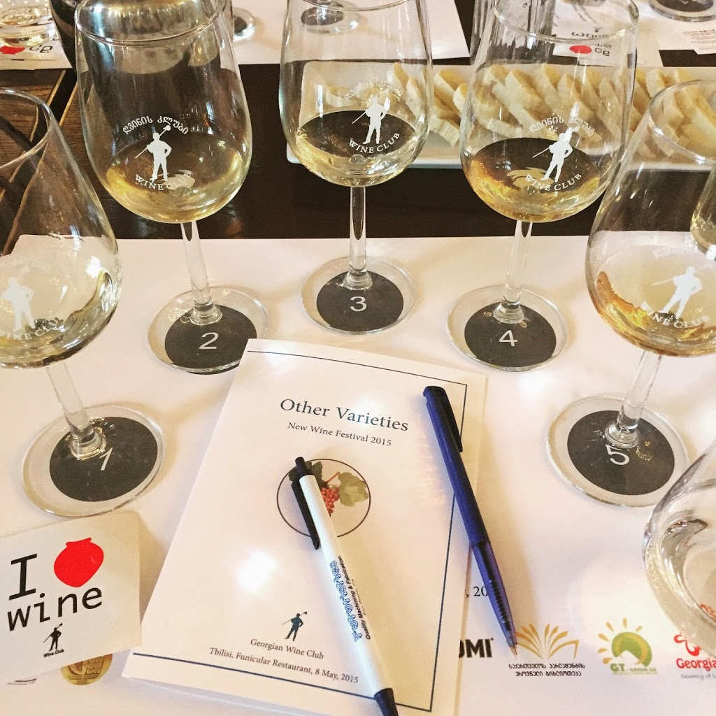 Rare Georgian Wines at the 2015 New Wine Festival in Tbilisi